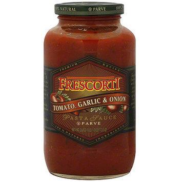 Frescorti Tomato, Garlic & Onion Pasta Sauce, 26 oz (Pack of 12)