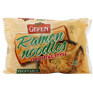 Gefen Ramen Oriental-Style Vegetable Noodles, 3 oz (Pack of 24)