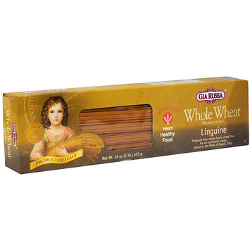 Gia Russa Whole Wheat Linguine, 16 oz (Pack of 20)