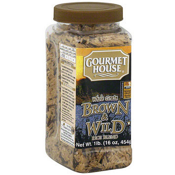 Gourmet House Brown & Wild Rice, 16 oz (Pack of 6)