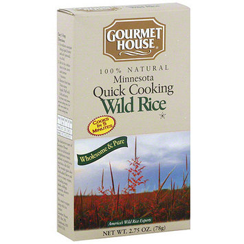 Gourmet House Wuick Cooking Wild Rice, 2.75 oz (Pack of 6)