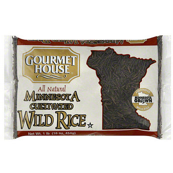 Gourmet House Minnesota Cultivated Wild Rice, 16 oz (Pack of 12)