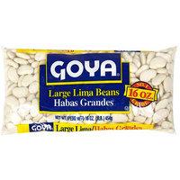 Goya Large Lima Beans, 16 oz (Pack of 24)