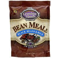 Grandma Mauds Grandma Maud's Black Beans & Rice Bean Meals, 6.2 oz (Pack of 12)