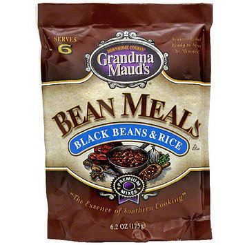 Grandma Mauds Grandma Maud's Black Beans & Rice Bean Meals, 6.2 oz (Pack of 12)