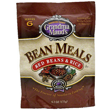 Grandma Mauds Grandma Maud's Red Beans & Rice Bean Meals, 6.2 oz (Pack of 12)
