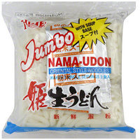 Hime Brand Jumbo Nama Udon Oriental Style Noodles, 20.82 oz (Pack of 12)