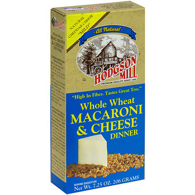 Hodgson Mill Whole Wheat Macaroni & Cheese Dinner, 7.25 oz (Pack of 12)