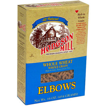 Hodgson Mill Whole Wheat Whole Grain Elbow Macaroni, 16 oz (Pack of 12)