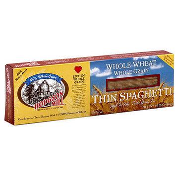 Hodgson Mill Whole Wheat Whole Grain Thin Spaghetti, 16 oz (Pack of 12)