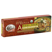 Hodgson Mill Organic Angel Hair Pasta With Milled Flax Seed, 12 oz (Pack of 12)