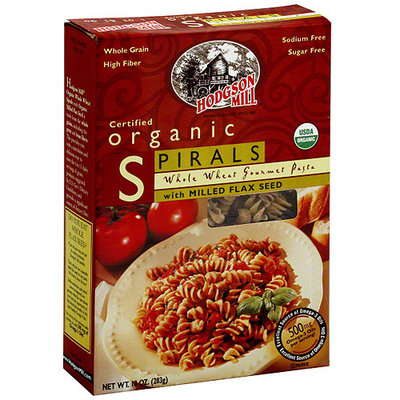 Hodgson Mill Whole Wheat Spirals With Milled Flax Seed, 10 oz (Pack of 8)