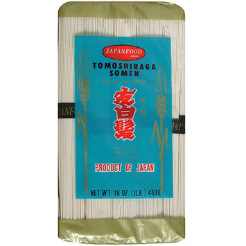 JFC Tomoshiraga Somen Thin Wheat Noodles, 16 oz (Pack of 12)