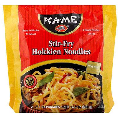 Kame Ka-Me Stir-Fry Hokkien Noodles, 14.2 oz (Pack of 6)