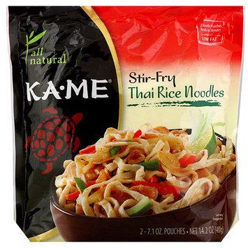Kame Ka-Me Stir-Fry Thai Rice Noodles, 14.2 oz (Pack of 6)