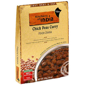 Kitchens Of India Chicken Pea Curry, 10 oz (Pack of 6)
