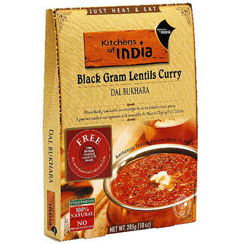 Kitchens Of India Black Gram Lentils Curry, 10 oz (Pack of 6)