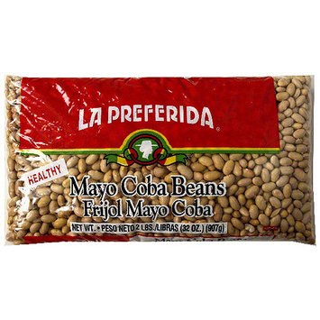 La Preferida Mayo Coba Beans, 32 oz (Pack of 12)