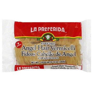 La Preferida Angel Hair Vermicelli, 10 oz (Pack of 12)