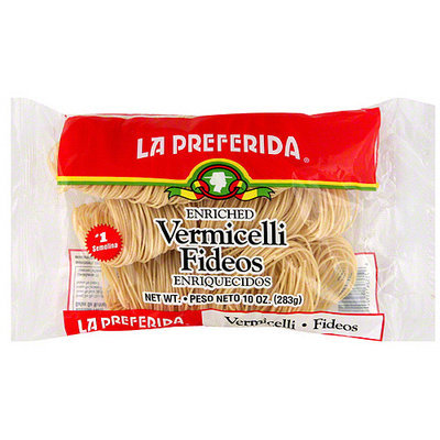 La Preferida Fidelini Fideo Noodles, 10 oz (Pack of 12)