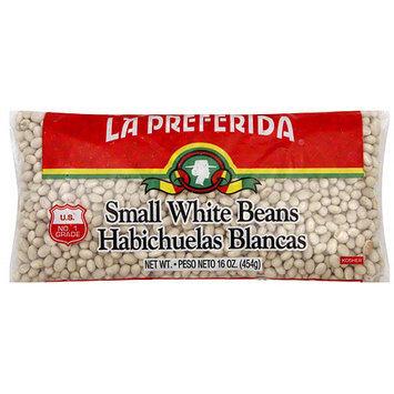 La Preferida Small White Beans, 16 oz (Pack of 24)
