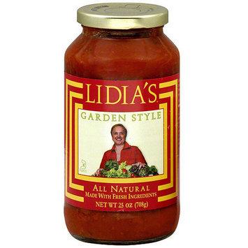 Lidias Lidia's Garden Style Sauce, 25 oz (Pack of 6)