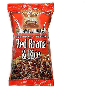 Louisiana Purchase Red Beans & Rice, 8 oz (Pack of 12)
