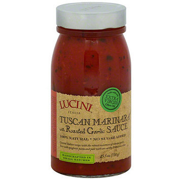 Lucini Italia Roasted Garlic Marinara Sauce, 25.5 oz (Pack of 6)