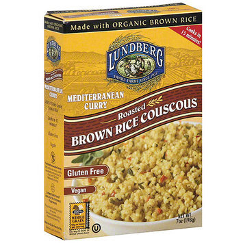 Lundberg Family Farms Mediterranean Curry Couscous, 7 oz (Pack of 6)