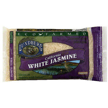 Lundberg Family Farms California White Jasmine Rice, 32 oz (Pack of 6)
