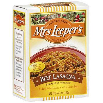 Mrs Leepers Mrs. Leeper's Beef Lasagna Pasta, 6.42 oz (Pack of 6)