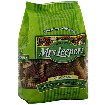 Mrs Leepers Mrs. Leeper's Rice Vegetable Twists, 12 oz (Pack of 12)