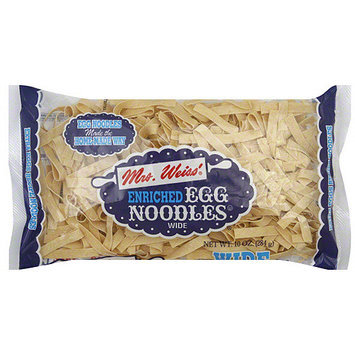 Mrs. Weiss' Wide Egg Noodle Pasta, 10 oz (Pack of 12)
