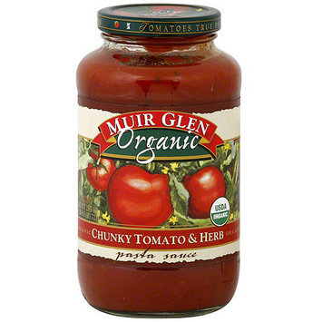 Muir Glen Tomato & Herb Pasta Sauce, 25.5 oz (Pack of 12)
