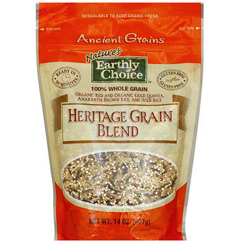 Tures Earthly Choice Nature's Earthly Choice Ancient Heritage Grain Blend, 14 oz (Pack of 6)