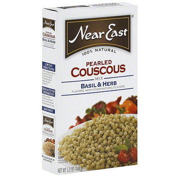 Near East Basil & Herb Pearled Couscous Mix, 5 oz (Pack of 12)