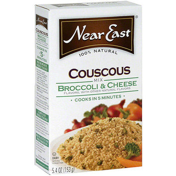 Near East Broccoli & Cheese Couscous Mix, 5.4 oz (Pack of 12)