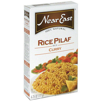 Near East Curry Rice Pilaf Mix, 6.25 oz (Pack of 12)