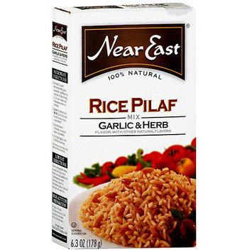 Near East Garlic & Herb Rice Pilaf, 6.3 oz (Pack of 12)