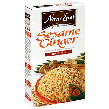 Near East Sesame Ginger Rice Mix, 5.2 oz (Pack of 12)