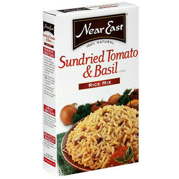 Near East Sundried Tomato & Basil Rice Mix, 5.5 oz (Pack of 12)