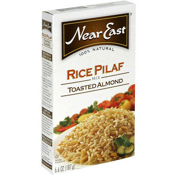 Near East Toasted Almond Rice Pilaf Mix, 6.6 oz (Pack of 12)