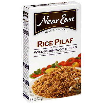 Near East Wild Mushroom & HerbRice Pilaf, 6.3 oz (Pack of 12)