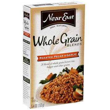 Near East Roasted Pecan & Garlic Whole Grain Blends, 5.4 oz (Pack of 12)