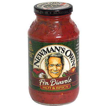 Newman's Own Fra Diavolo Hot & Spicy Pasta Sauce, 24 oz (Pack of 12)