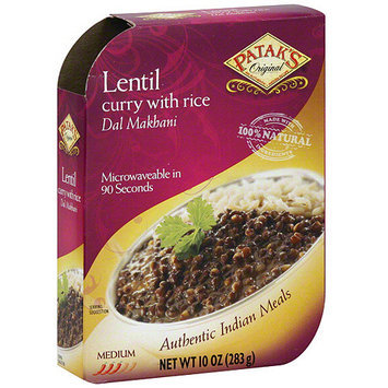 Patak's Lentil Curry, 10 oz (Pack of 8)