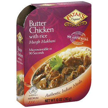 Patak's Butter Chicken With Rice, 10 oz (Pack of 8)