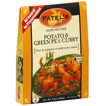 Patel Potato & Green Pea Curry, 9.9 oz (Pack of 10)