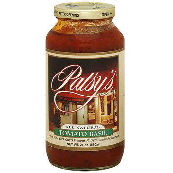 Patsys Patsy's Tomato Basil Tomato Sauce, 24 oz (Pack of 6)