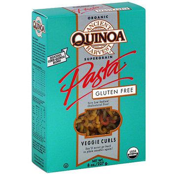 Ancient Harvest Quinoa Gluten Free Veggie Curls Pasta, 8 oz (Pack of 12)